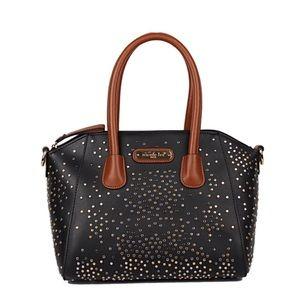 ● Zena Studded Satchel Bag ●